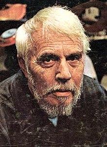 portreto de Harry Partch, ĉirkaŭ 1969