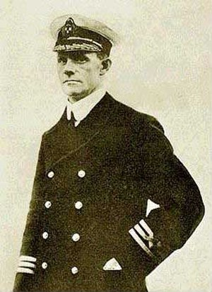 RMS Empress of Ireland - Formal portrait of Captain Henry Kendall, the last captain of the RMS Empress of Ireland.
