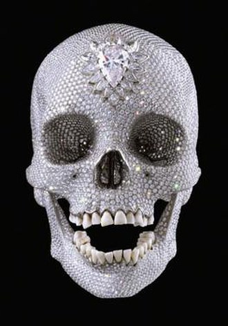 Damien Hirst - For the Love of God by Damien Hirst (2007)