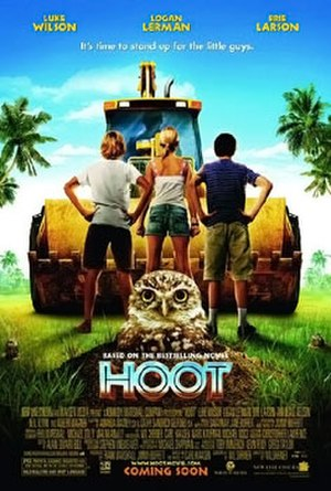 Hoot (film) - Theatrical release poster
