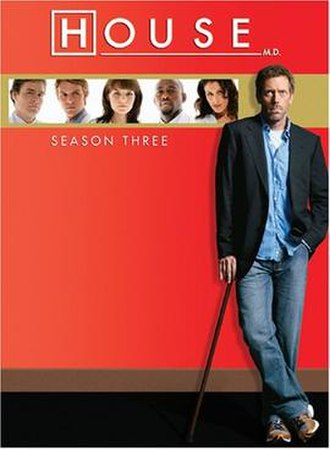 House (season 3) - Image: House MD s 3 US DVD