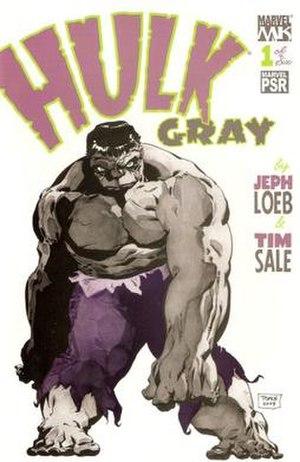 Hulk: Gray - Art by Tim Sale.