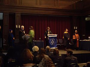 Pi Gamma Mu - Candlelight Initiation Ceremony of a Pi Gamma Mu chapter