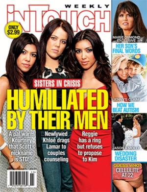 In Touch Weekly - Image: In Touch Weekly magazine cover