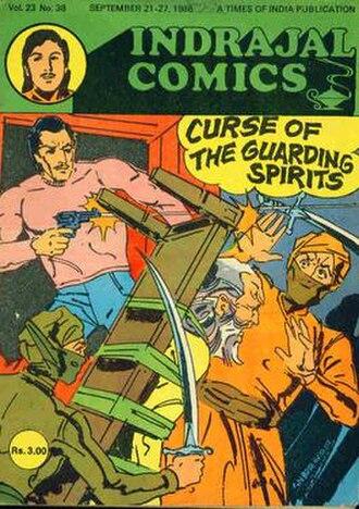 Bahadur (comics) - Image: Indrajal comics 38 cover