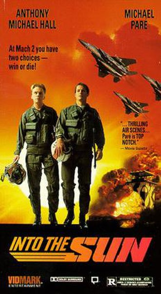 Into the Sun (1992 film) - Image: Into the Sun poster
