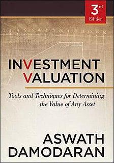 <i>Investment Valuation</i> book by Aswath Damodaran