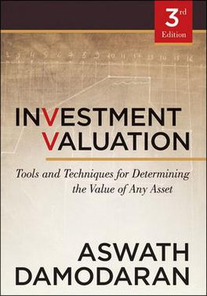 Investment Valuation - Image: Investment Valuation bookcover