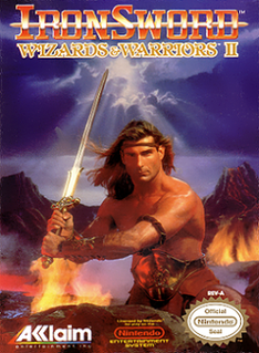 <i>Ironsword: Wizards & Warriors II</i> 1991 video game