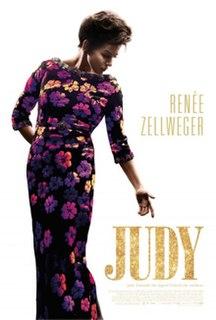 <i>Judy</i> (film) 2019 film directed by Rupert Goold