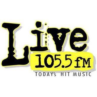 KFYV - Image: KFYV Live 105.5 logo
