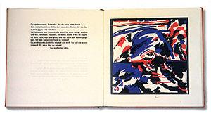 Klänge - An inner spread from Klänge, Wassily Kandinsky, 1912