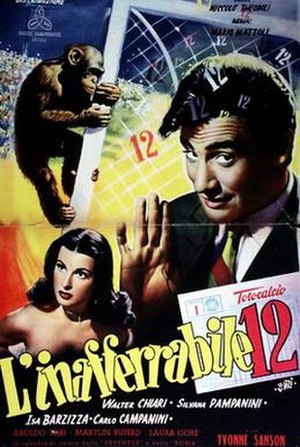 L'inafferrabile 12 - Image: L'inafferrabile 12 poster