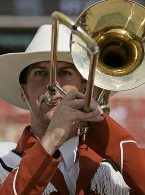 The University of Texas Longhorn Band - The Longhorn Band's characteristic uniform