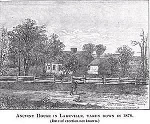 Lakeville, Massachusetts - Ancient House in Lakeville