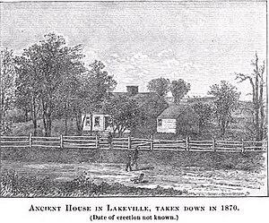Lakeville, Massachusetts - Ancient House in Lakeville