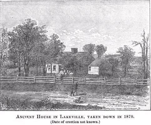 Lakeville MA Ancient House