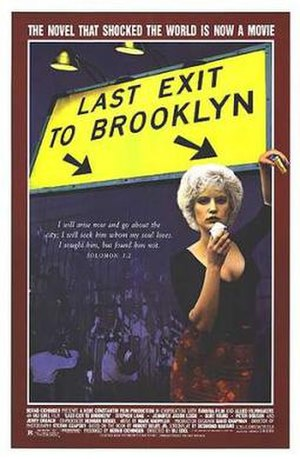 Last Exit to Brooklyn (film) - Theatrical release poster