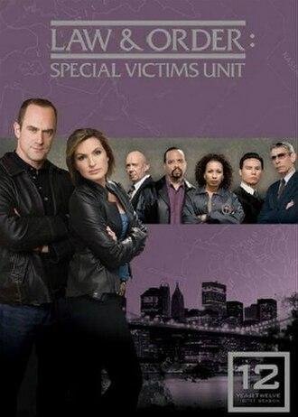 Law & Order: Special Victims Unit (season 12) - Season 12 U.S. DVD cover