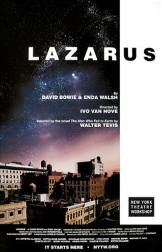 Lazarus (musical) - Off-Broadway promotional poster