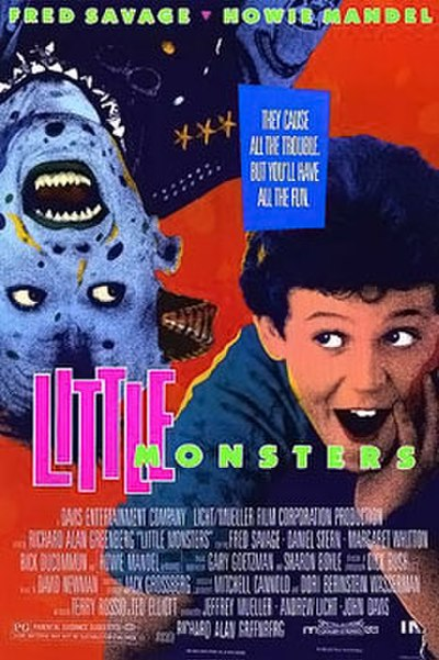 Picture of a movie: Little Monsters