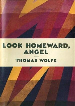Look Homeward, Angel - First edition