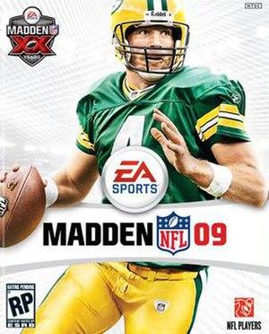 Madden NFL 09 - Image: Madden NFL 09 Coverart