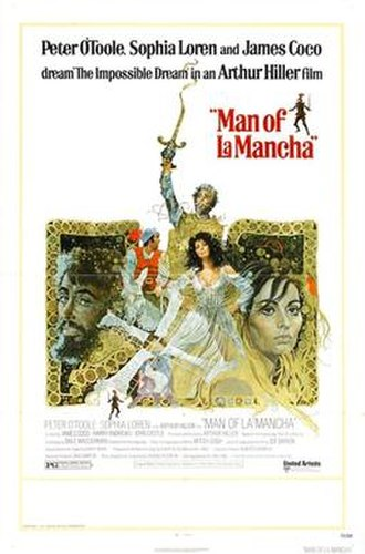 Man of La Mancha (film) - Film poster by Ted CoConis
