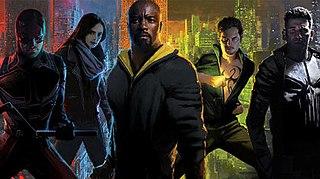 Marvels Netflix television series American web television series