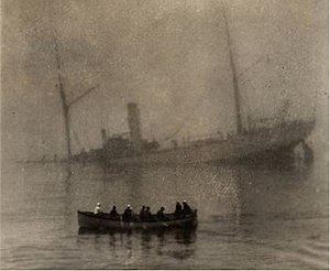 USS McCulloch (1897) - McCulloch sinking on 13 June 1917.