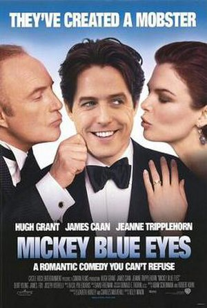 Mickey Blue Eyes - Theatrical release poster