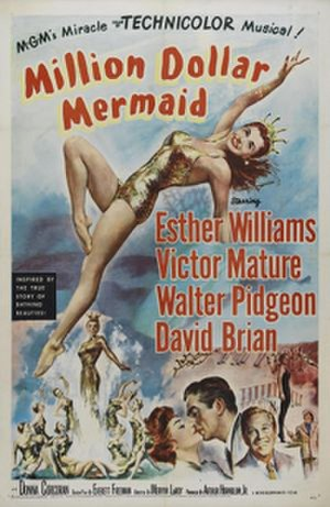 Million Dollar Mermaid - Theatrical release poster