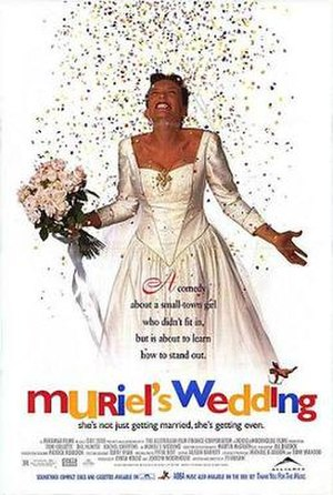 Muriel's Wedding - Canadian theatrical release poster