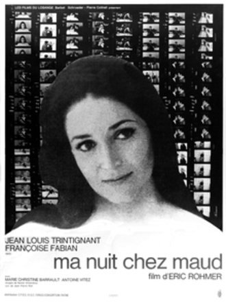 My Night at Maud's - Theatrical release poster