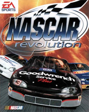 NASCAR Revolution - Cover art
