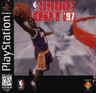 NBA ShootOut '97 - Cover art