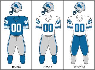 1996 Detroit Lions season NFL American football season