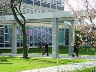 Paris Nanterre University - Ths Social Sciences buildings
