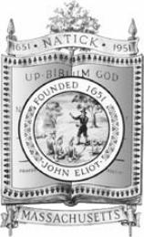 Official seal of Natick, Massachusetts