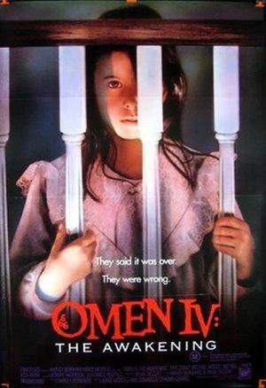 Omen IV: The Awakening - Image: Omen IV DVD cover