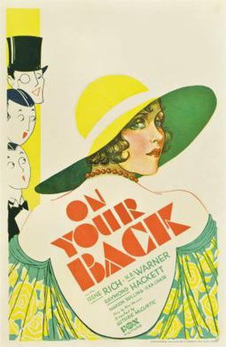 On Your Back - Theatrical release poster