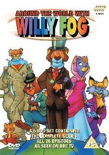 <i>Around the World with Willy Fog</i> Japanese-Spanish anime