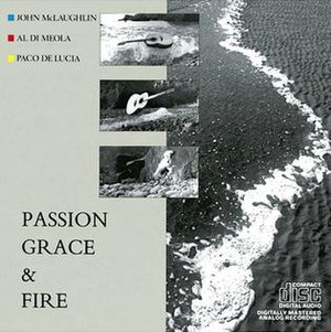 Passion, Grace and Fire - Image: Passion, Grace and Fire