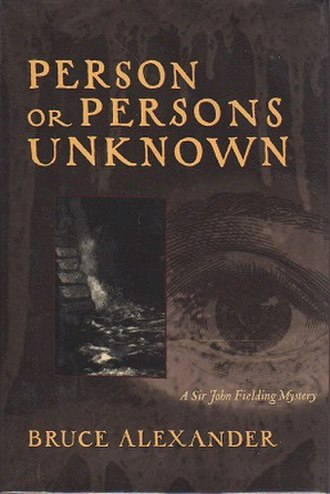 Person or Persons Unknown (novel) - Image: Person or Persons Unknown (novel)