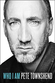 <i>Who I Am</i> (book) memoir by Pete Townshend