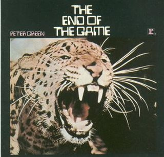 <i>The End of the Game</i> 1970 studio album by Peter Green