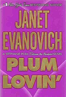 <i>Plum Lovin</i> book by Janet Evanovich