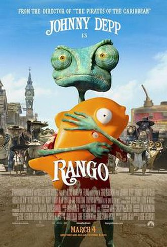 Rango (2011 film) - Theatrical release poster
