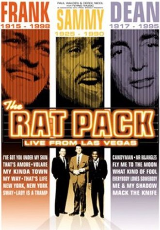 The Rat Pack: Live from Las Vegas - Promotional image for the West End production