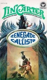 <i>Renegade of Callisto</i> novel by Lin Carter